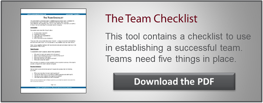 Team Building CTA