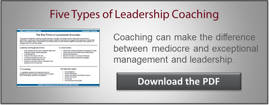 Leadership Coaching CTA