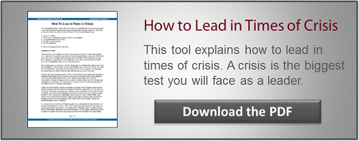 Crisis Management CTA
