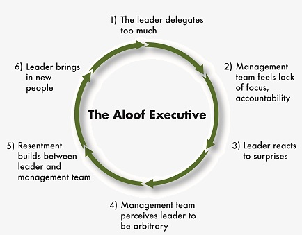 Aloof Executive