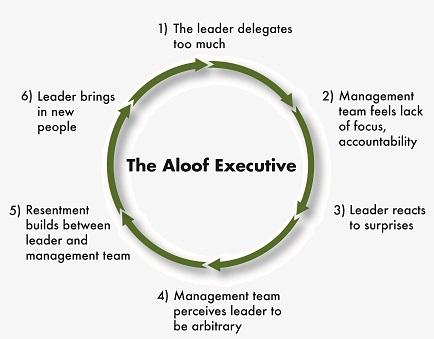 Aloof Executive